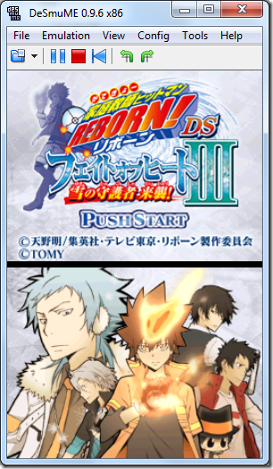 Free Download [NDS] Katekyo Hitman Reborn! DS Fate of Heat III - Yuki no Shugosha Raishuu! (Japan)