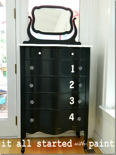 black_and_white_painted_dresser