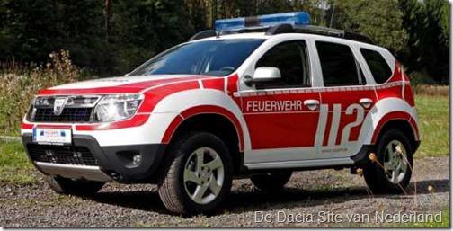 Dacia Duster als brandweer 10