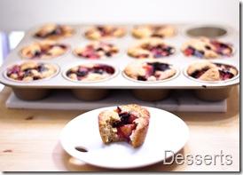 plum cobbler muffins36