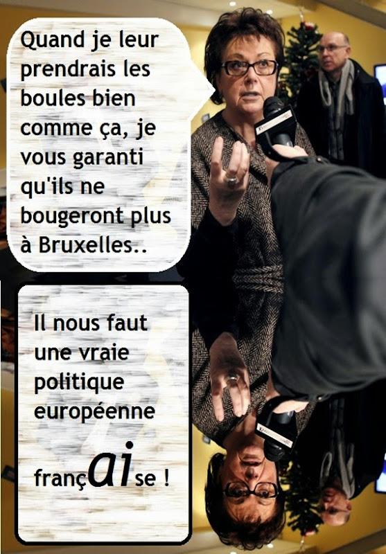 Boutin la politica europèa