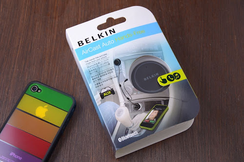 BELKIN ブルートゥーストランスミッター(F4U037QE)のパッケージ