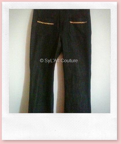 Pantalon jean fille