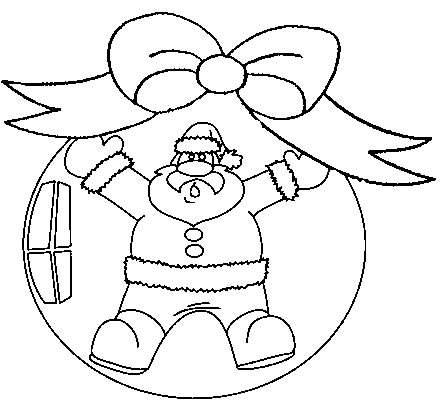 Bolas de arvore de natal para colorir - Boule de noel dessin ...