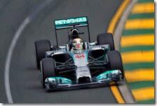 Hamilton conquista la pole del gran premio d'Austrlia 2014