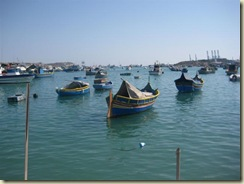 Marsaxlokk Boats (Small)