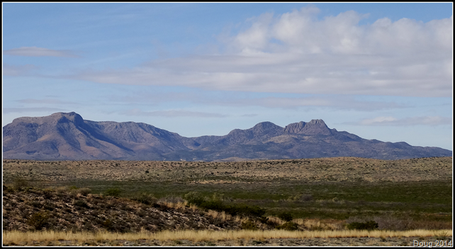 Barrilla Mountains