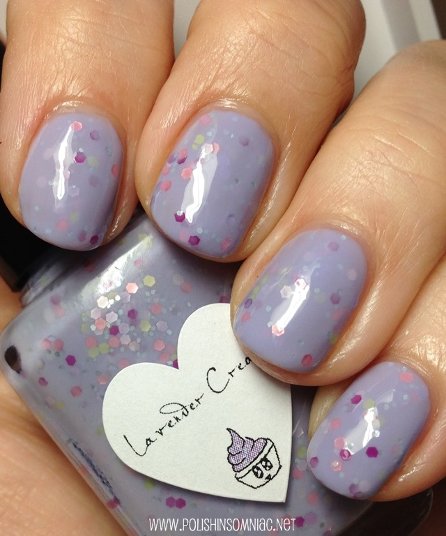 The Hungry Asian Lavender Cream Nail Polish