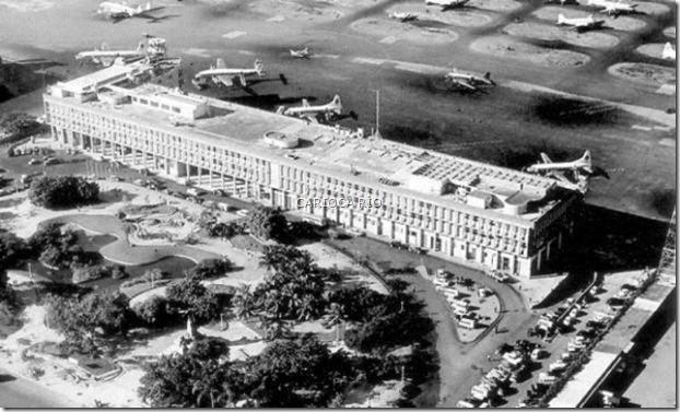 Aeroporto Santos Dumont-1954