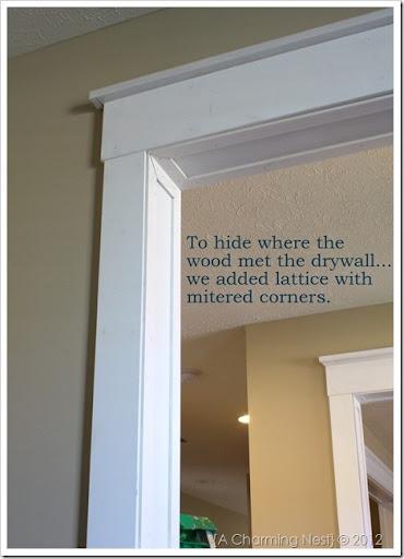 IMG_2223 & A CHARMING NEST: DIY Door Casings\u2026the easy way.