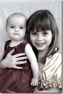 Lisa nästan 7 månader o svensk prinsessan e född! 059
