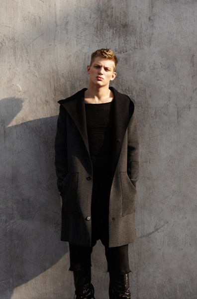 Sebastian Sauve by Giorgio Codazzi for Come for Breakfast, F/W 2011-12