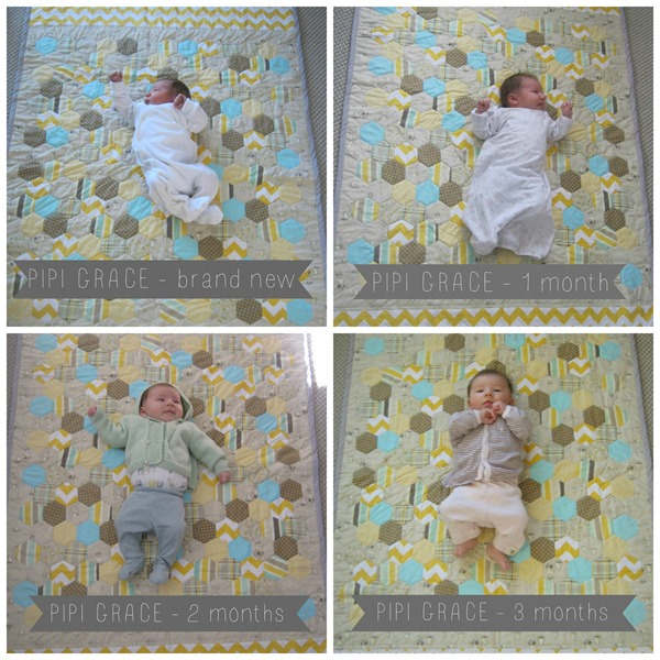 Pipi Grace 3 month comparison