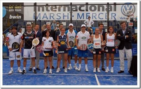 Díaz-Belasteguin y Montes-Llaguno triunfan en Madrid, Campeones bwin PPT Marsh-Mercer