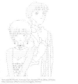 [AA]Ayanami Rei & Ikari Shinji (Evangelion)