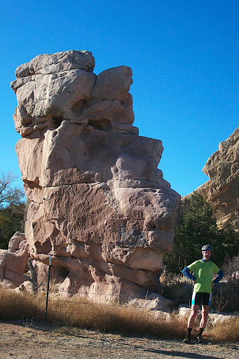 (private) garden of gods (± goddesses).  Looks easter islandish from this angle.