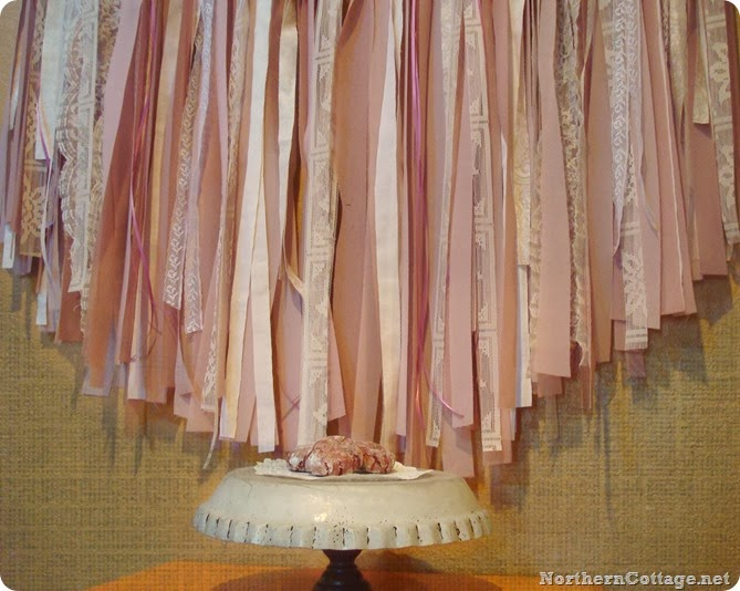 Soft Romantic Rose Garland {Northern Cottage}