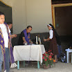 Fr. Manoling blesses some of the 80 houses rebuild in Bagtik and Catigbian, Bohol