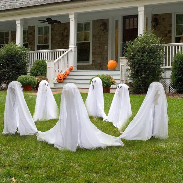 Outdoor Hallowen Decorating Ideas 39 Halloween Decorations Ideas