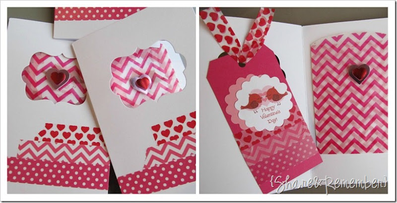 washi tape valentine cards 3
