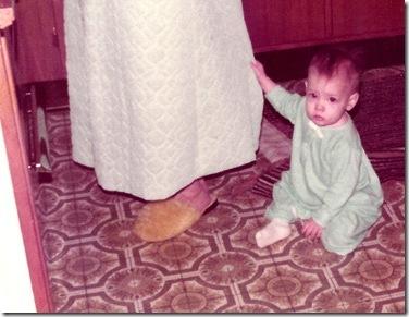 1974-Christmas---LaNae-holding-Mama-[1]