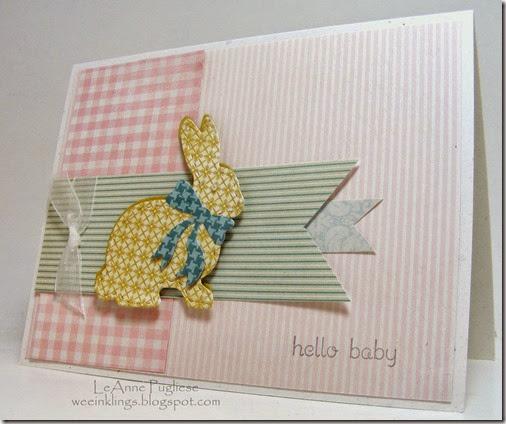 LeAnne Pugliese WeeInklings Hello Baby Bunny