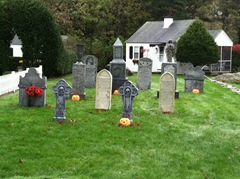 Brewster cottages gravestones