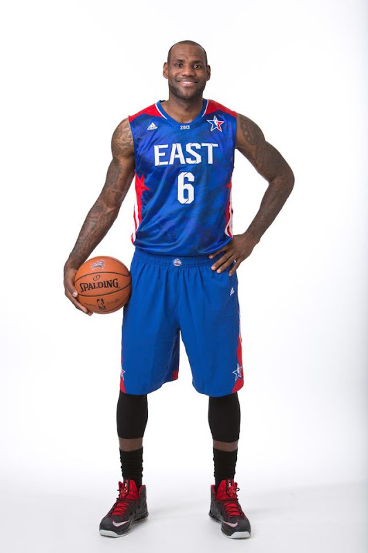 lebron james nba 130117 allstar vote 01 Adidas Unveils Allstar Jerseys. LeBron Voted from 2nd Place.
