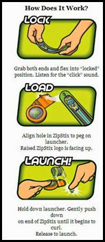 ZipStix Instructions