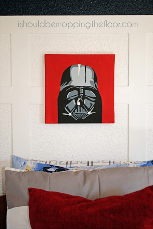 star wars art for boys room