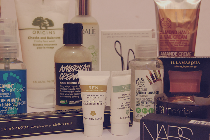 Haul Origins Lush Body Shop Illamasqua