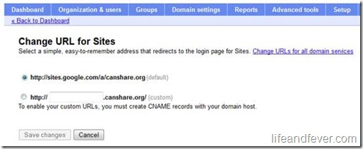 Blogger Naked Domain Failed Redirect