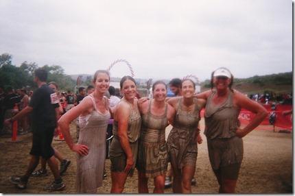 Camp Pendleton Mud Run team 1 finish
