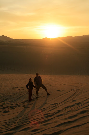 Our last shot of a great experience and an exceptional place that is Huacachina.