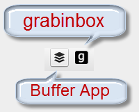 Grabinbox or Buffer App
