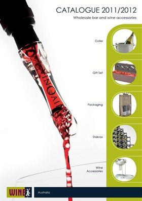 WineX Product Catalogue 2011-2012 - Cover