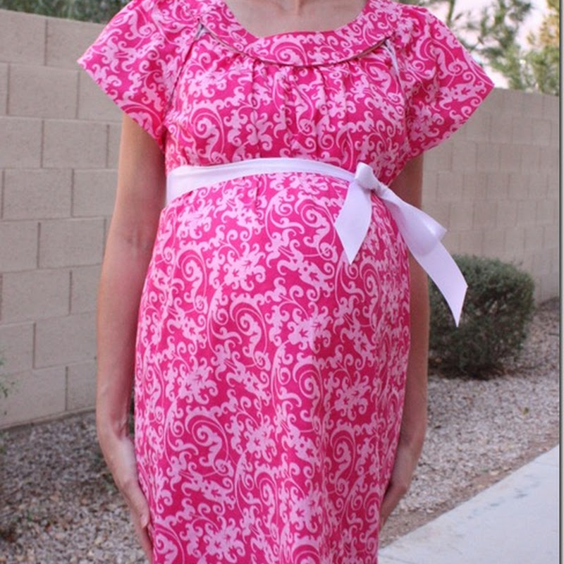labor and delivery gown sewing pattern