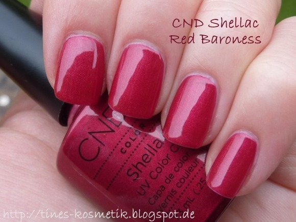 CND Shellac Red Baroness 1