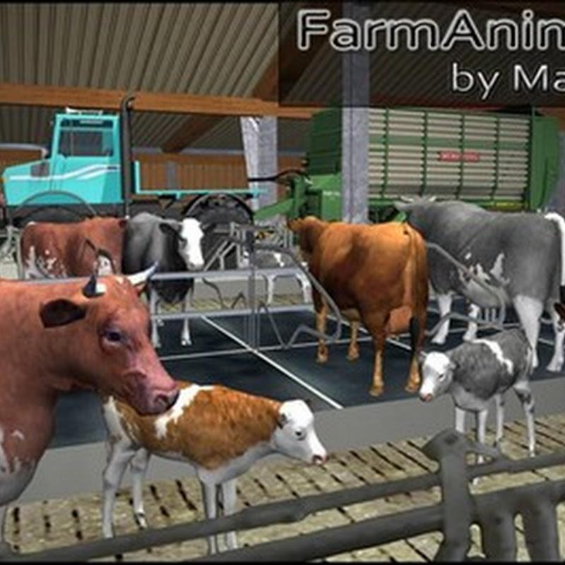Farming simulator 2013 - Farm Animals Complete Collection v 1.0