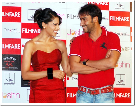 Ajay Devgan with Bipasa
