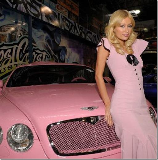 PH Pink car