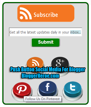how to add email button to blogger