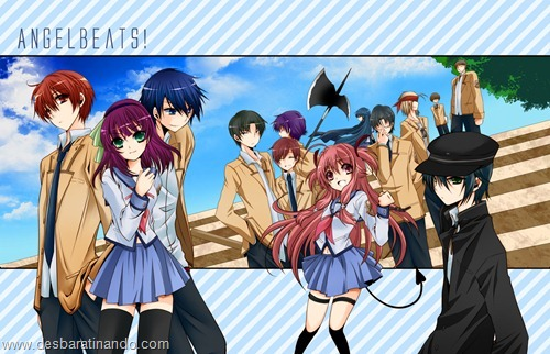 Angel Beat wallpapers anime papeis de parede download desbaratinando  (10)