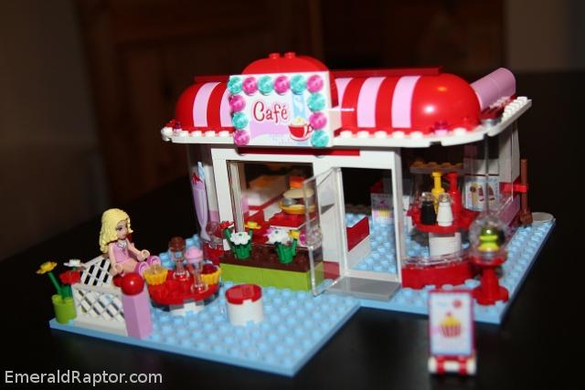 Lego Friends: Parkcaféen