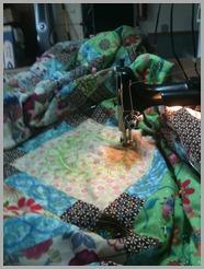 Puddled King Bedspread Size Quilt