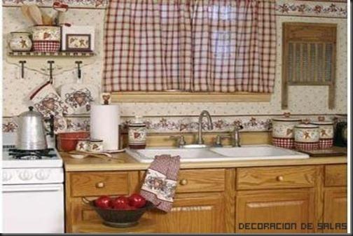 Cortinas para la cocina decoracion de interiores for Decoracion cortinas cocina