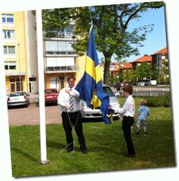 hissa flaggan