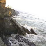 Premières alertes sur les falaises de Socoa