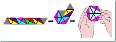 flexagon model