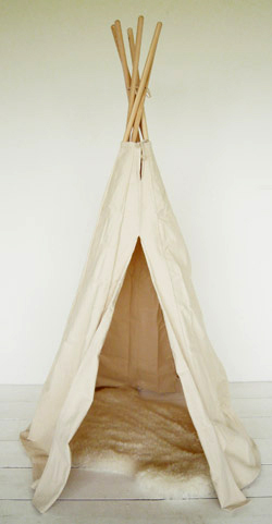I don't care if wanting a tepee for my very grown up apartment makes me a big kid–so be it. Everyone should have one at some point in their lives.